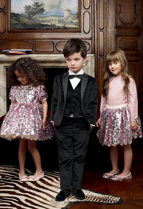 детская мода Dolce & Gabbana фото (481x700, 94Kb)