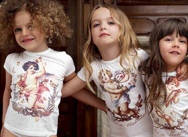 детская мода Dolce & Gabbana фото 12 (600x436, 79Kb)