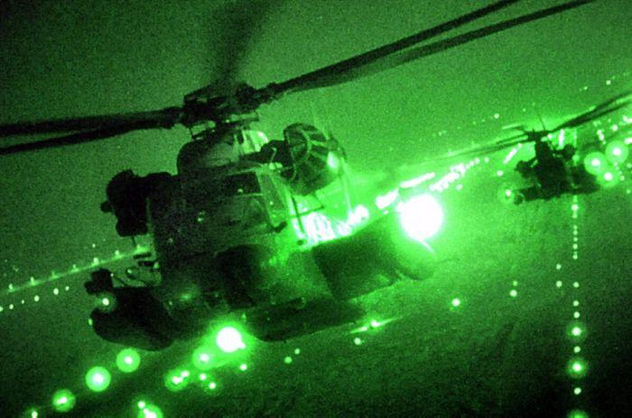 Ночное видение. Военные фотографии