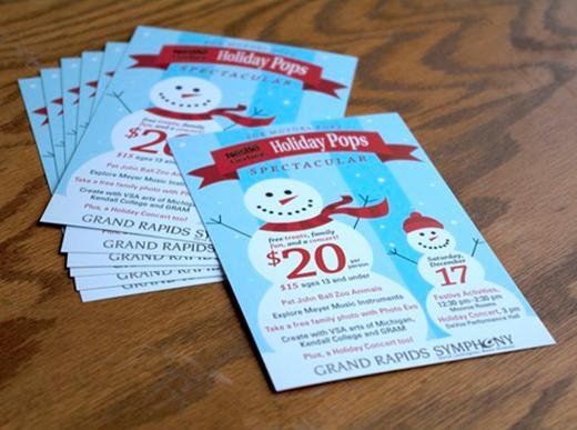 Рождественский дизайн. 10 чудесных праздничных открыток