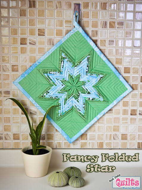 Fancy Folded Star (477x640, 136Kb)