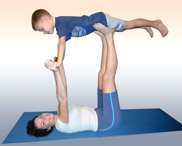 картинки для парной йоги для детей