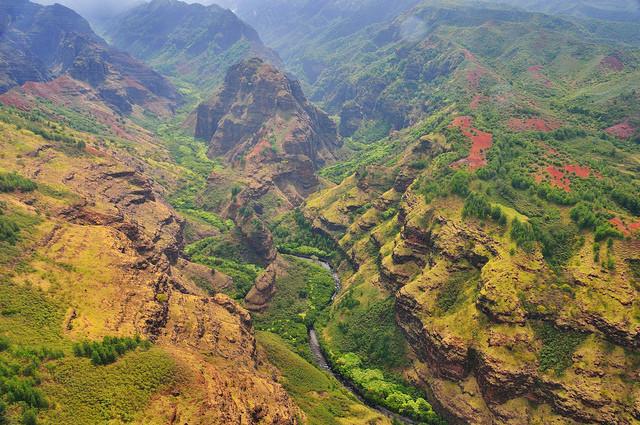 Каньон Ваймеа гавайские острова фото 8 (640x425, 174Kb)
