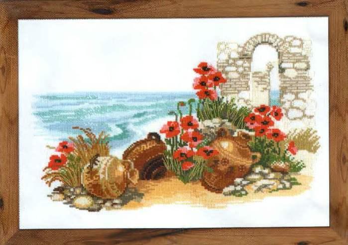 вышивка крестом греция - Самое