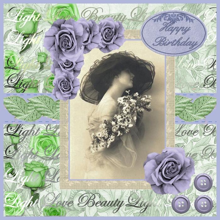 Оригинальная открытка с днём рождения женщине6