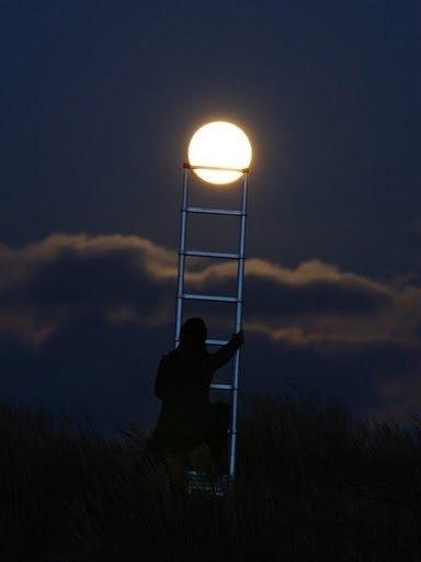 луна с неба