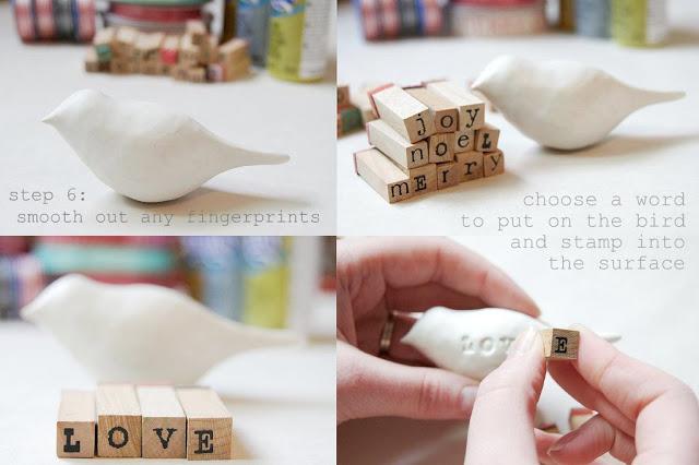 Как из глины сделать птичку из