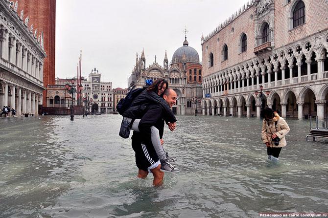 венеция под водой фото 9 (670x446, 97Kb)