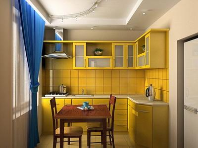 Обустройство маленькой кухни (400x300, 47Kb)
