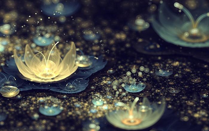 фрактальные цветы картинки Сильвия Кордедда 8 (700x437, 260Kb)