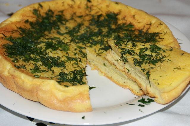 омлет рецепт из яиц в духовке рецепт с фото