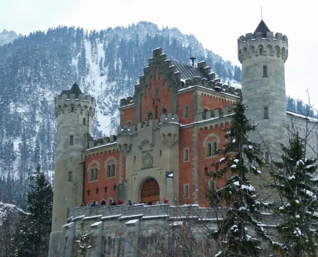 замок Нойшванштайн в Швангау, Германия- 12 (640x518, 118Kb)