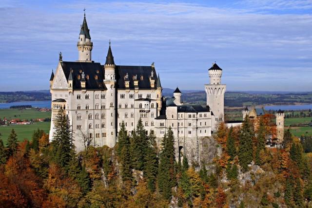 замок Нойшванштайн в Швангау, Германия- 5 (640x427, 99Kb)