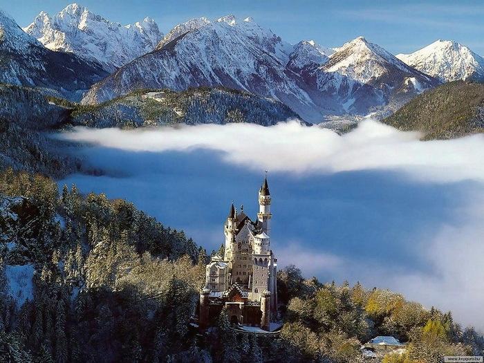 замок Нойшванштайн в Швангау, Германия- 24 (700x525, 170Kb)