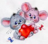 Среда, 10 Октября 2012 г. 18:23.  Декупаж/Картинки для декупажа.  Нравится Поделиться. мышки.  Понравилось.