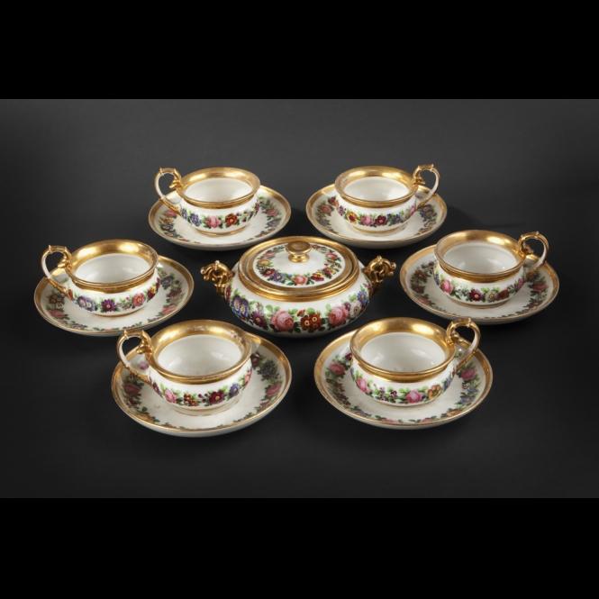 665x665_service_cafe_1NPARIS. Service à thé comprenant 6 tasses et leurs .. (665x665, 185Kb)