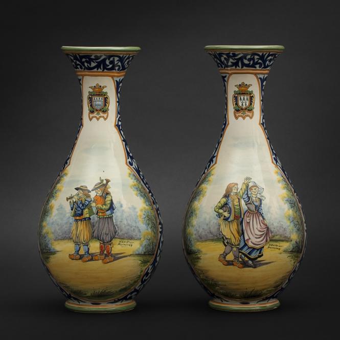 665x665_vases_quimper_1NPaire de vases en faïence de Quimper (665x665, 248Kb)
