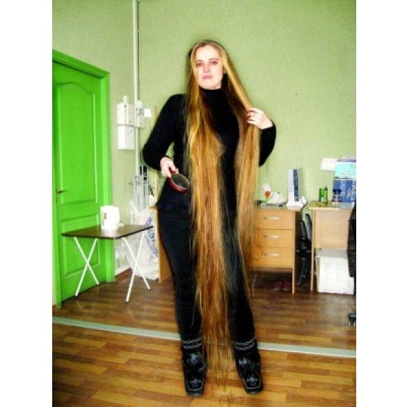 Как сделать волосы длинными на фото