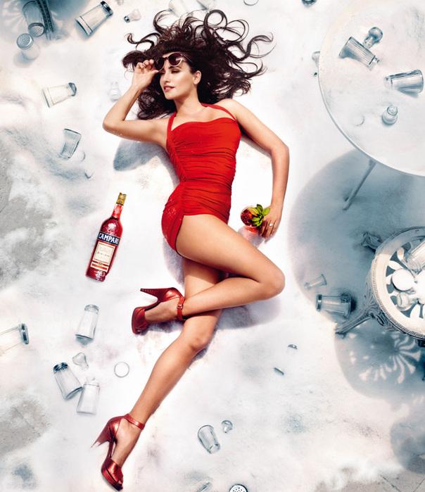 Пенелопа Крус для Campari фото 1 (604x700, 162Kb)