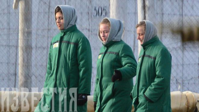Фотографии Pussy Riot в мордовской колонии. Фотографии