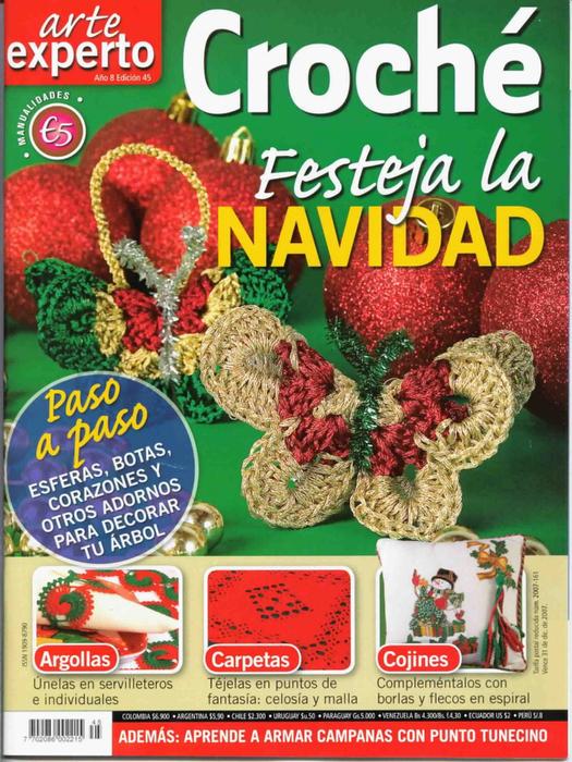 Rev.Arte Experto crochet Navidad (525x700, 535Kb)