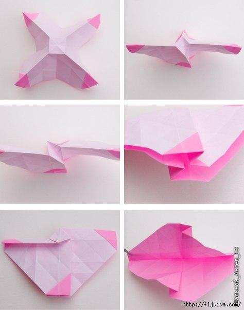 Изделие.  Не дорого.  Бумага.  Категории.  Оригинальный подарок.  Роза.  Схема.  Оригами.