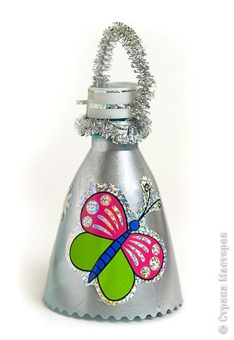 Колокольчики из бутылок как сделать