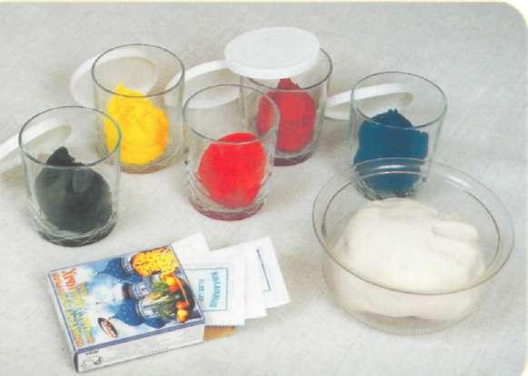 Как сделать цветное соленое тесто - ItHour