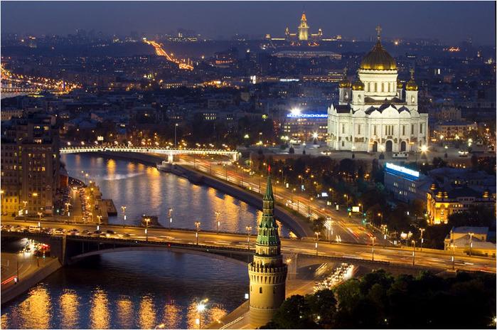 Фото вид на Москву. Вы решили поздравить родных, любимых Вам людей