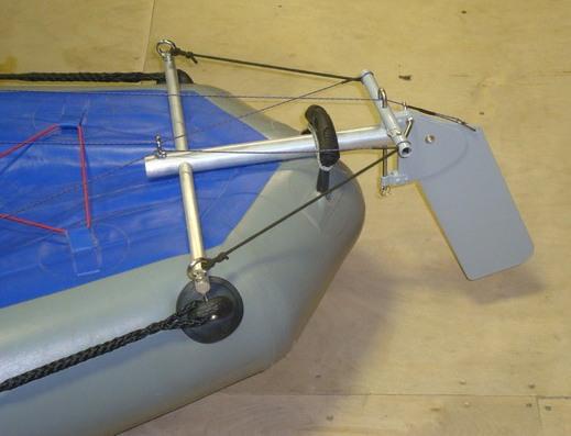 управление лодки сделать самому