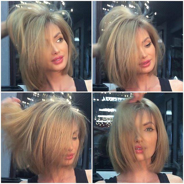 Стрижки новинки волосы