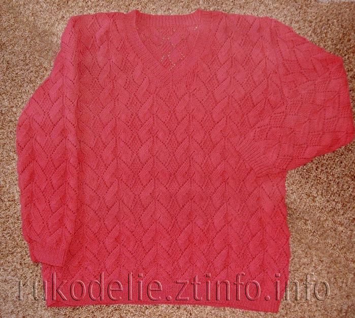 ажурный-пуловер1 (700x626, 163Kb)