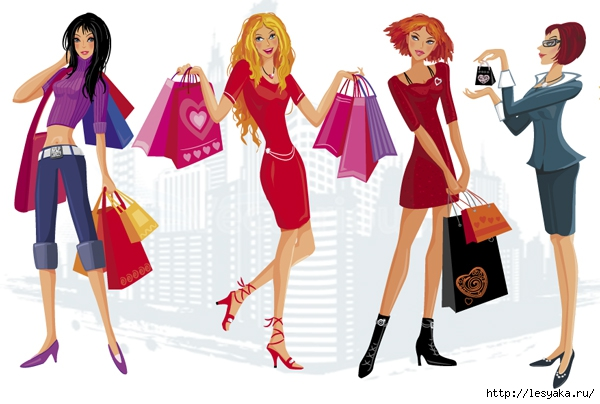3925073_vectorwomenshopping (600x404, 155Kb)
