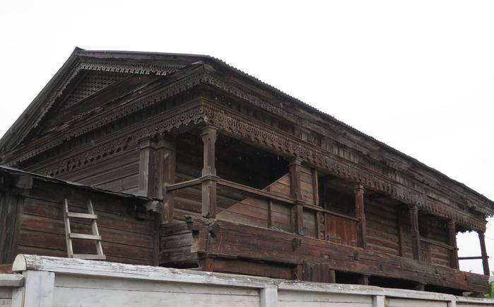Деревянный иркутск фото