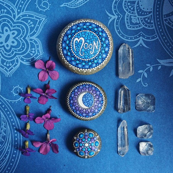 рисунки на камнях Элспет МакЛин 11 (604x604, 405Kb)