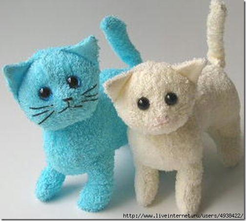 Котенок своими руками мягкая игрушка