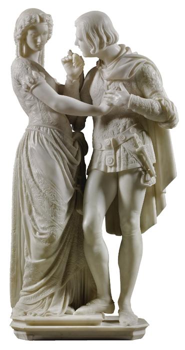 Pio Fedi (1816-1892) Dionora de Bardi and Ippolito Buondelmonti (7) (370x700, 198Kb)