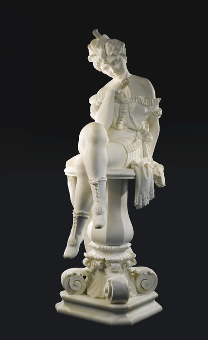 Ferdinando Vichi (Italian Sculptor 1875-1945) Masquerade (1) (428x700, 115Kb)