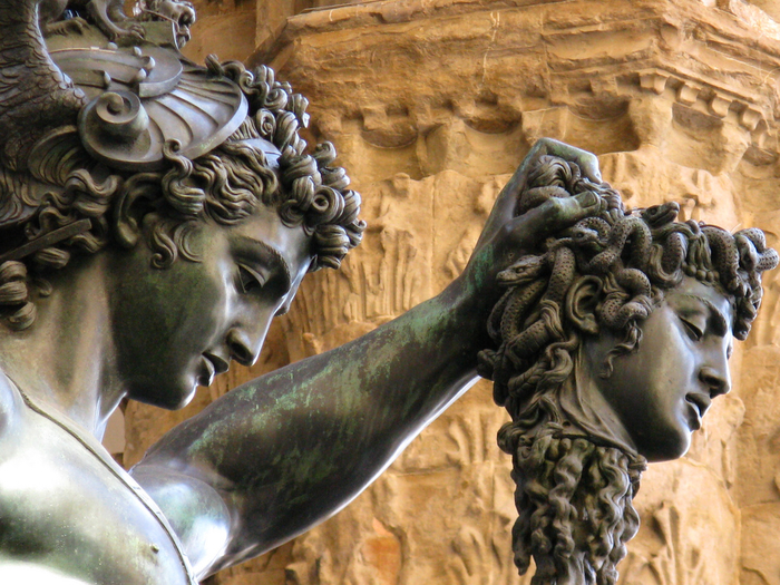 Benvenuto Cellini Perseus with the Head of Medusa, c. 1554 (3) (700x525, 541Kb)