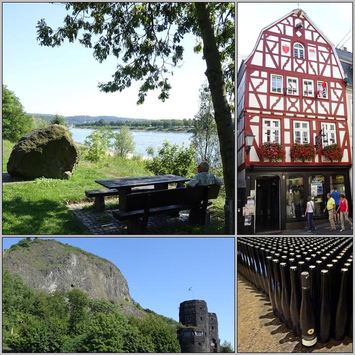 С прогулки по Рейну