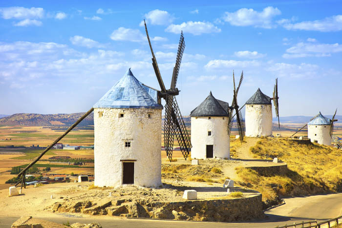 Ветряные мельницы Ла Манча фото 2 (700x467, 265Kb)