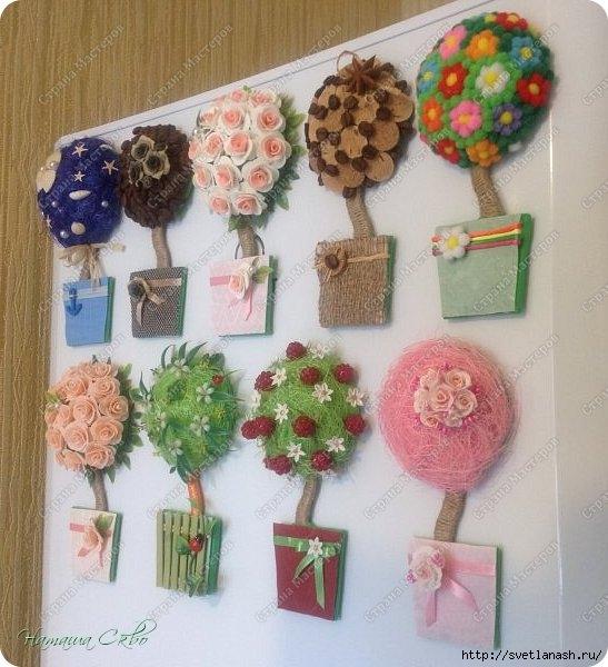 Идеи для магнитов на холодильник своими руками 5