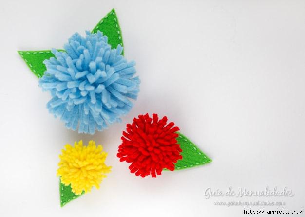 Разноцветные дубки из фетра (8) (626x446, 99Kb)