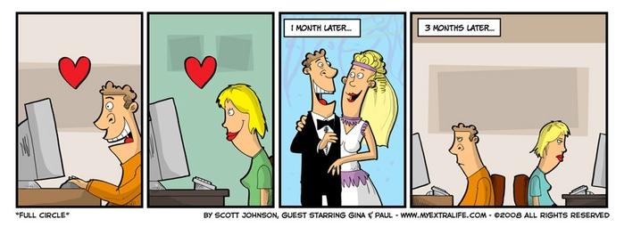Анекдоты о виртуальном знакомстве