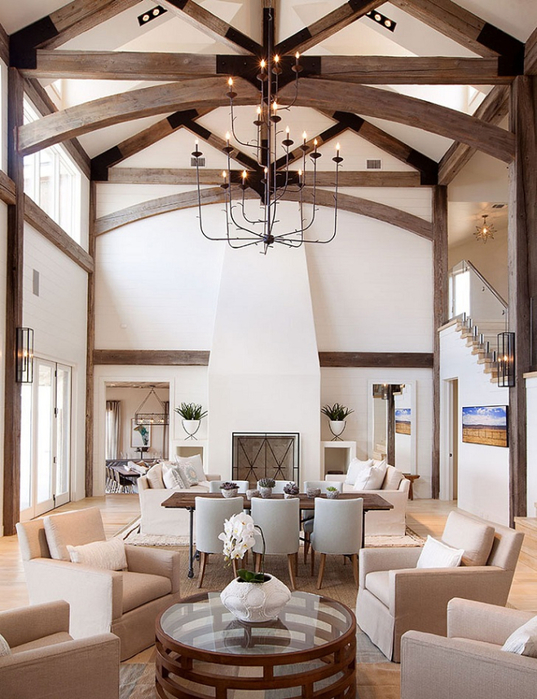красивый дизайн интерьера большого дома 2 (537x700, 406Kb)