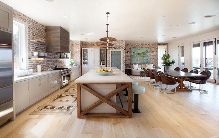 красивый дизайн интерьера большого дома 4 (700x442, 317Kb)