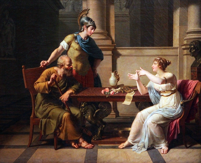 Сократ и А (700x569, 325Kb)