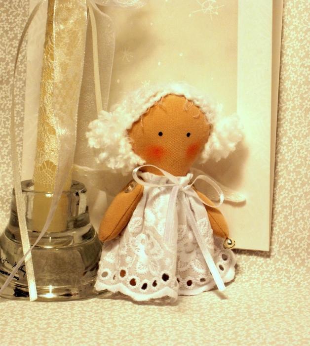 Рождественский ангел сшитый своими руками