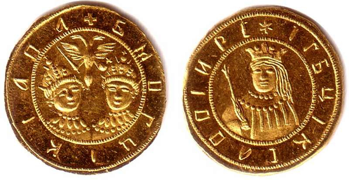 03 Petr_I_and_Ivan_V_coin (700x362, 326Kb)