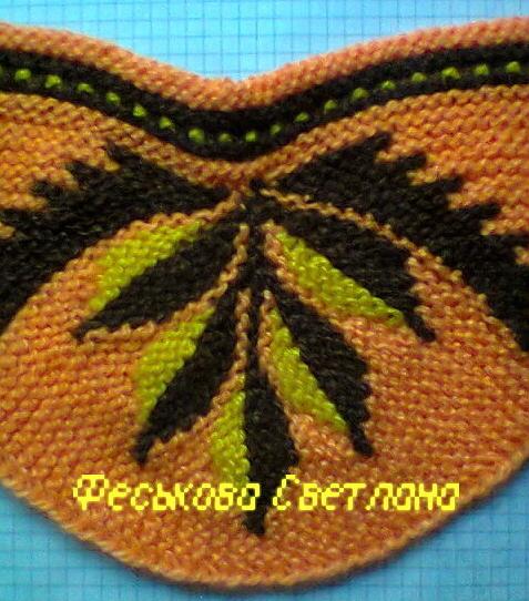 Тапочки светланы феськовой вязание